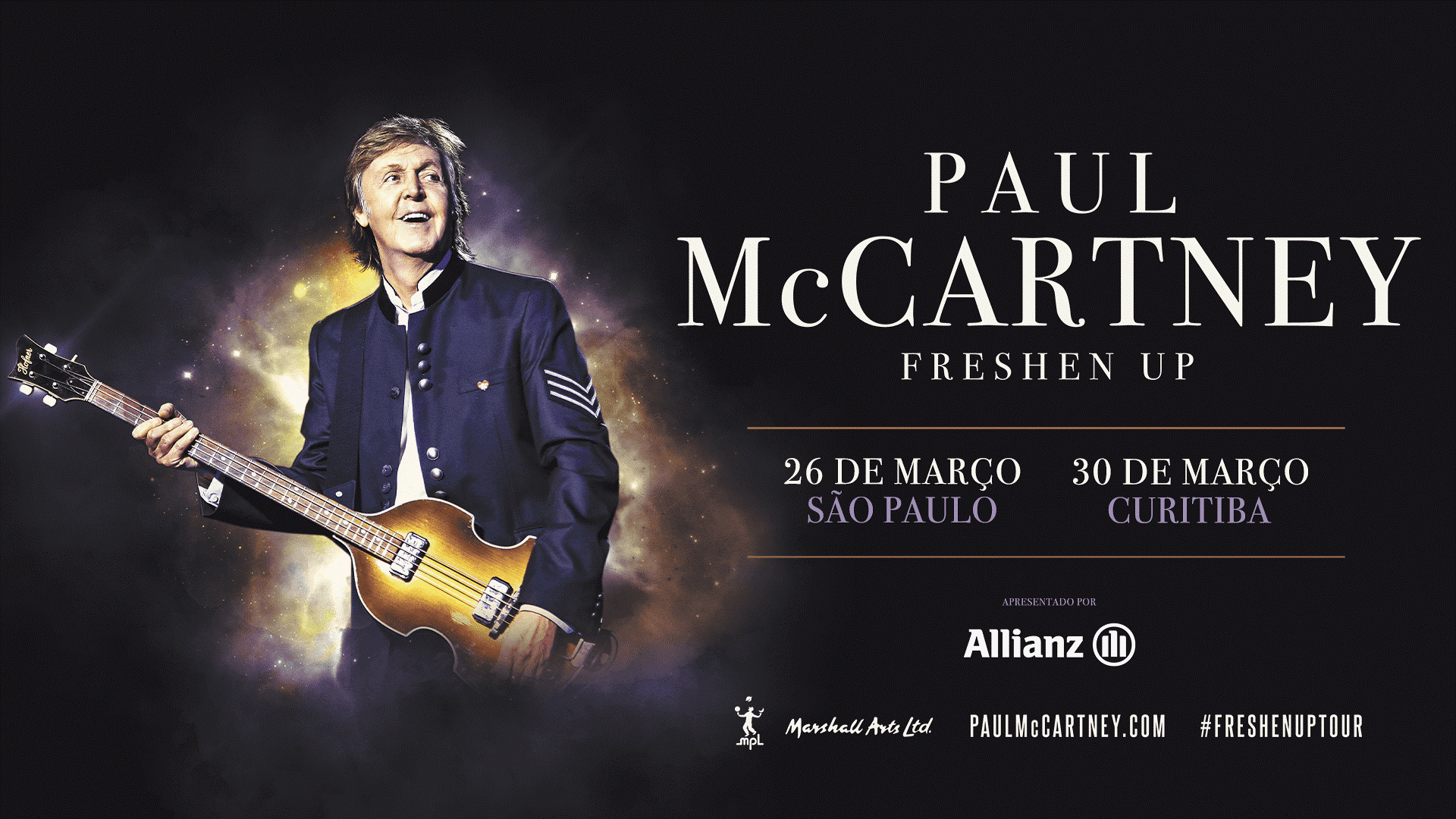 "PAUL MCCARTNEY – ""THE FRESHEN UP TOUR"""