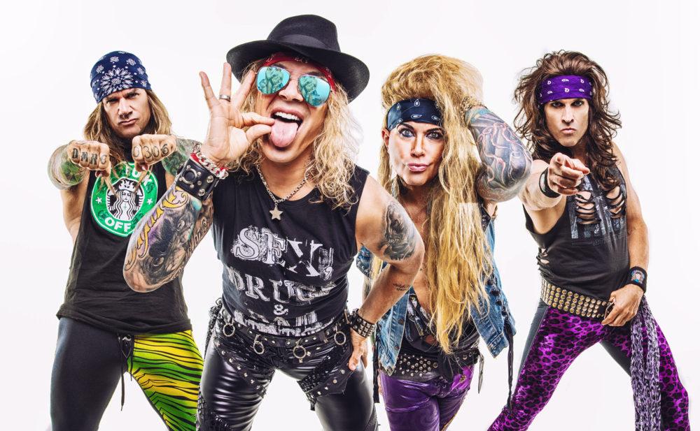Com humor, STEEL PANTHER anuncia a saída do baixista LEXXI FOXX   Roadie Crew