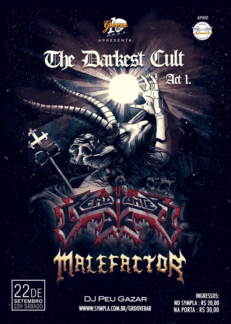 HEADHUNTER D.C. & MALEFACTOR – The Darkest Cult – Act 1