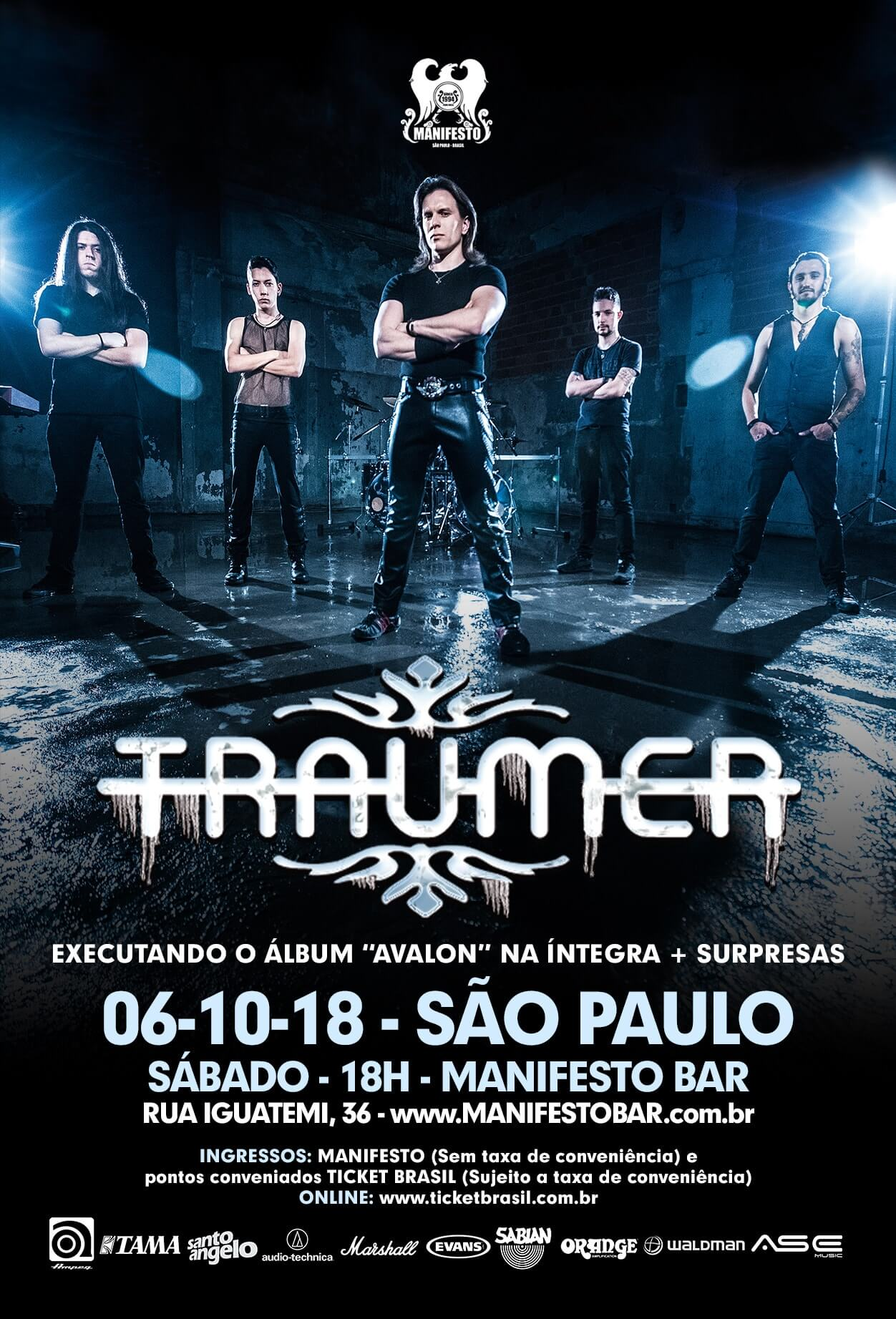 TRAUMER – Em São Paulo