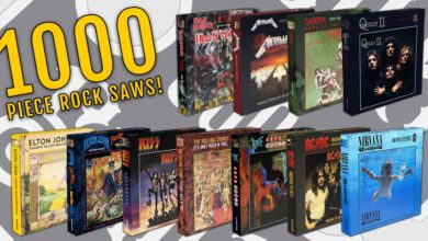 Photo of Álbuns de AC/DC, IRON MAIDEN, KISS, METALLICA, QUEEN, STONES, BOWIE e outros terão quebra-cabeças de 1000 peças