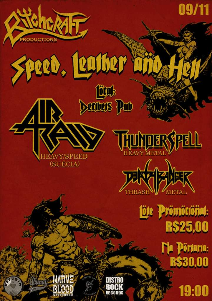 SPEED, LEATHER & HELL!
