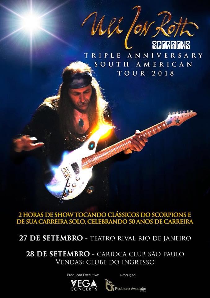 ULI JON ROTH – 50th Anniversary Tour