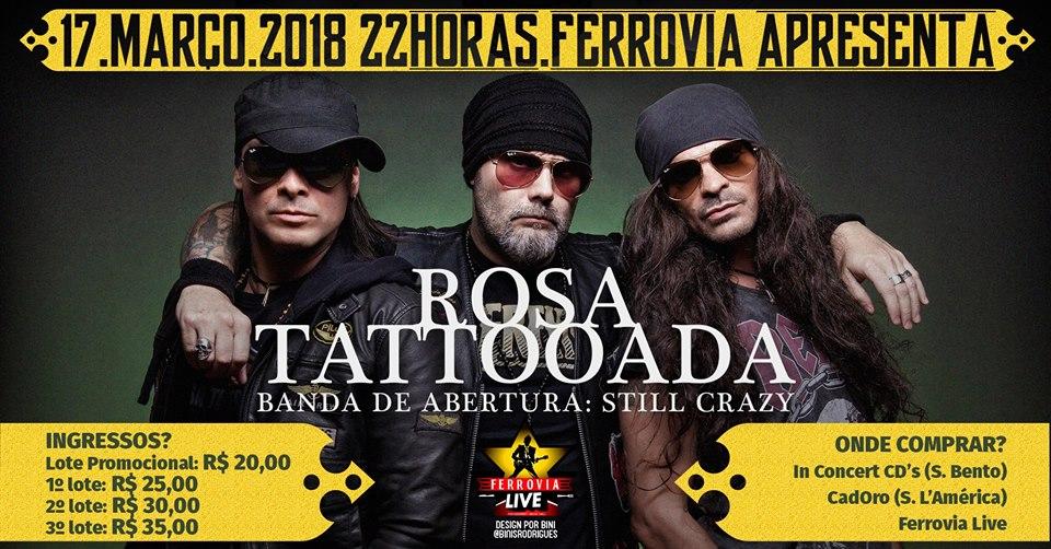 Rosa Tattooada
