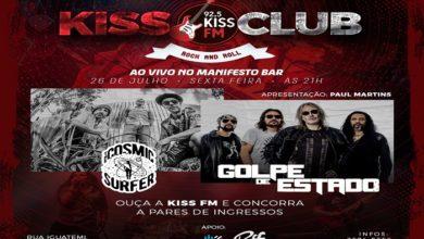 Photo of Rádio Kiss FM reestreia o programa Kiss Club hoje, 26/7