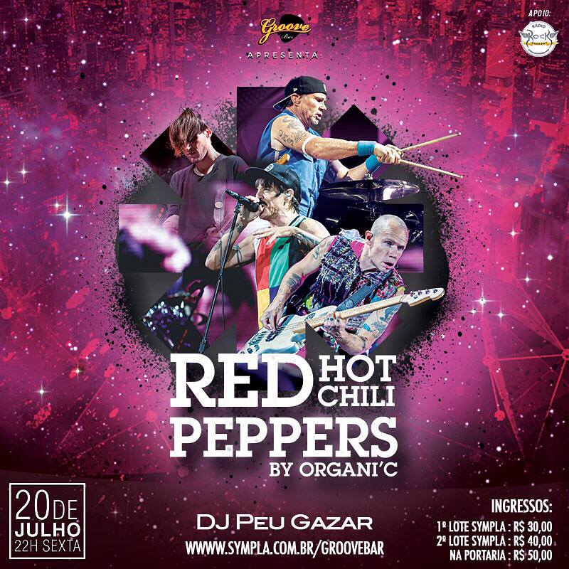 RED HOT CHILI PEPPERS by Organi´c